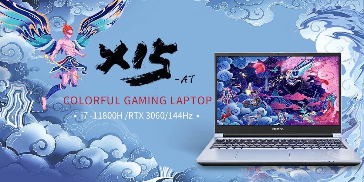 colorful gaming laptop x15-at