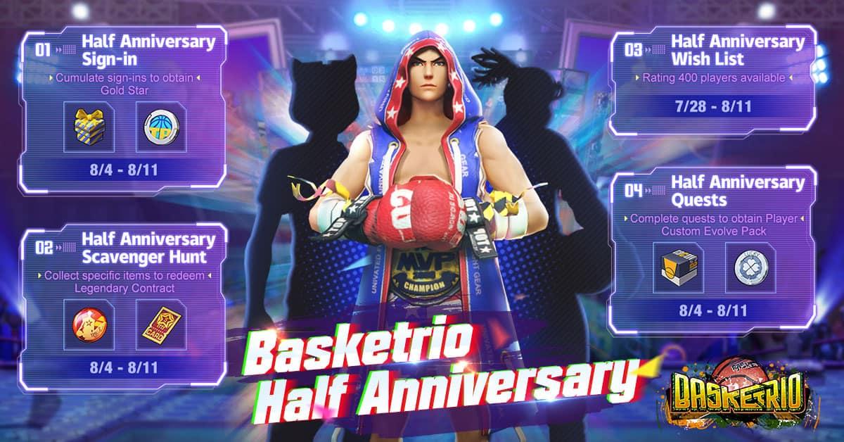 Basketrio HalfAnniversary