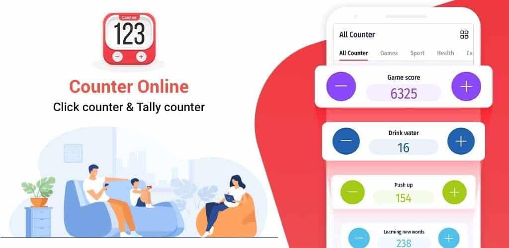 Counter Online Click counter & Tally counter
